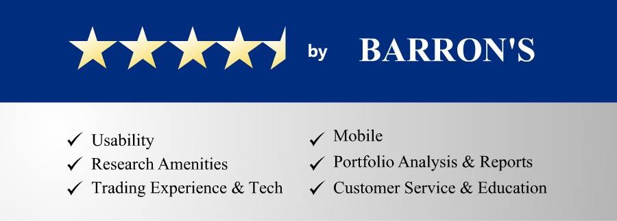 Rated 4 1/2 Stars by Barron's