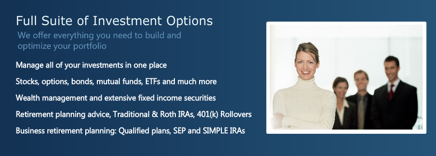 Full Suite of Investment Options
